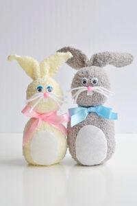 Take Home Craft - DIY Sock Bunny