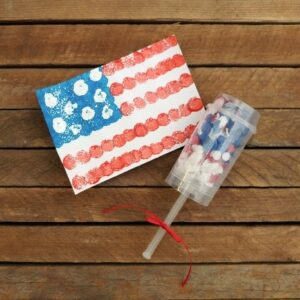 Fourth of July Confetti Popper