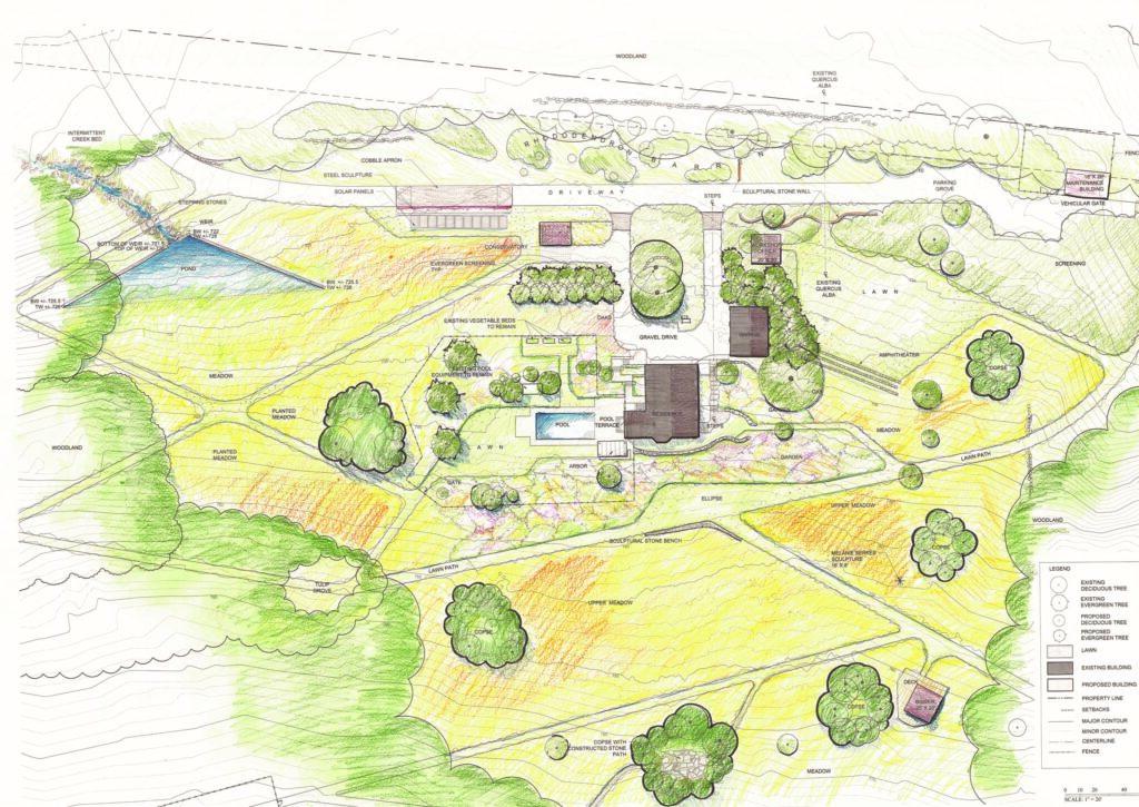 The Bower design plans