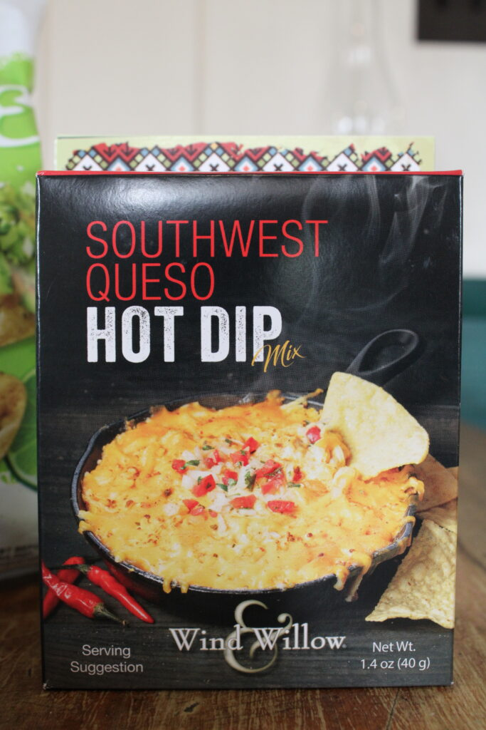Wind and Willow Soutwest Queso Hot Dip