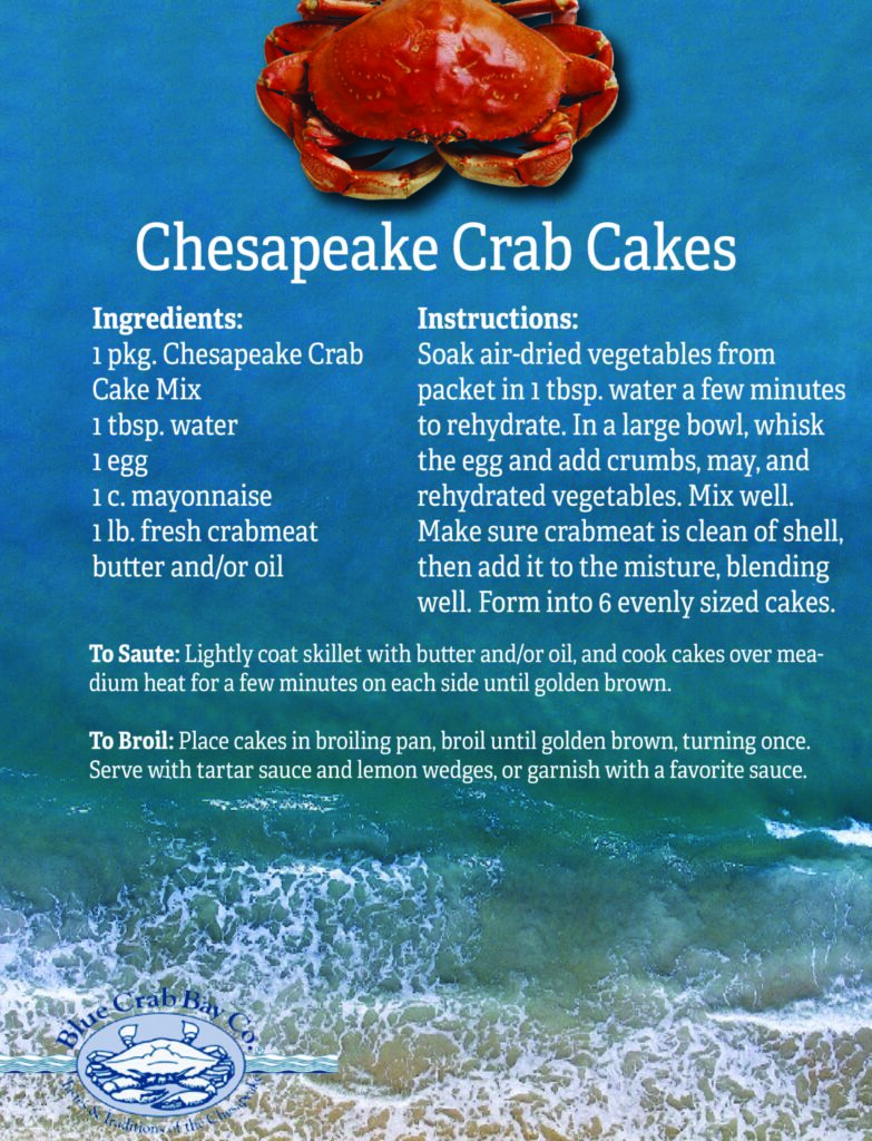 Chesapeake Crab Cakes from Blue Crab Bay Co.