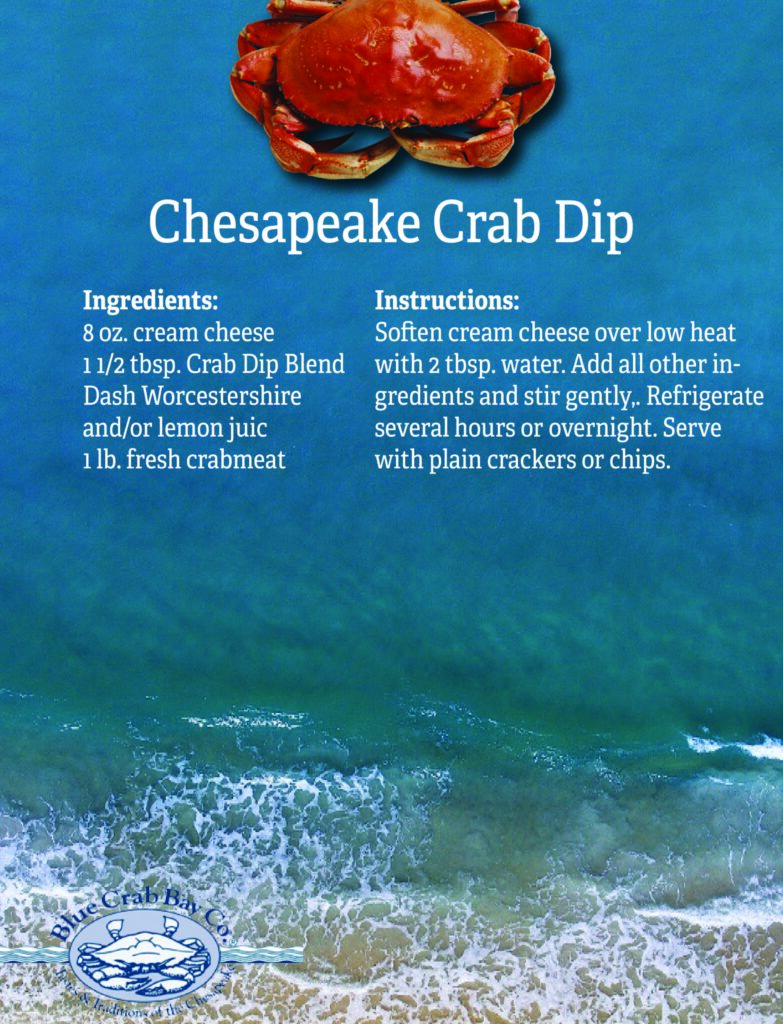 Chesapeake Crab Dip from Blue Crab Bay Co.